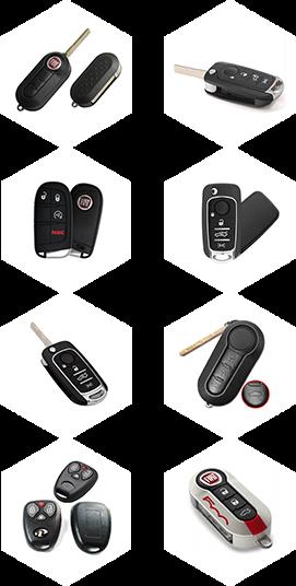 Fiat Car Key